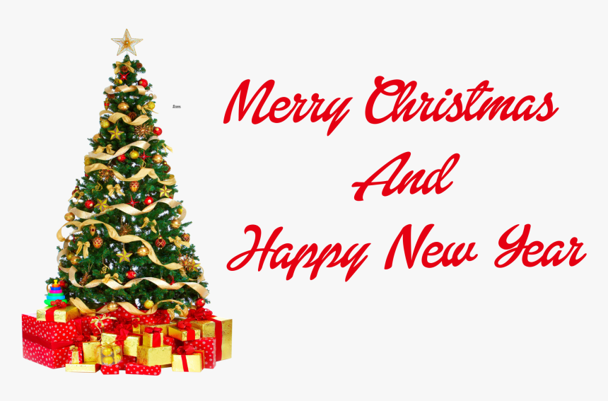 Christmas And New Year Png Free Image Download, Transparent Png, Free Download