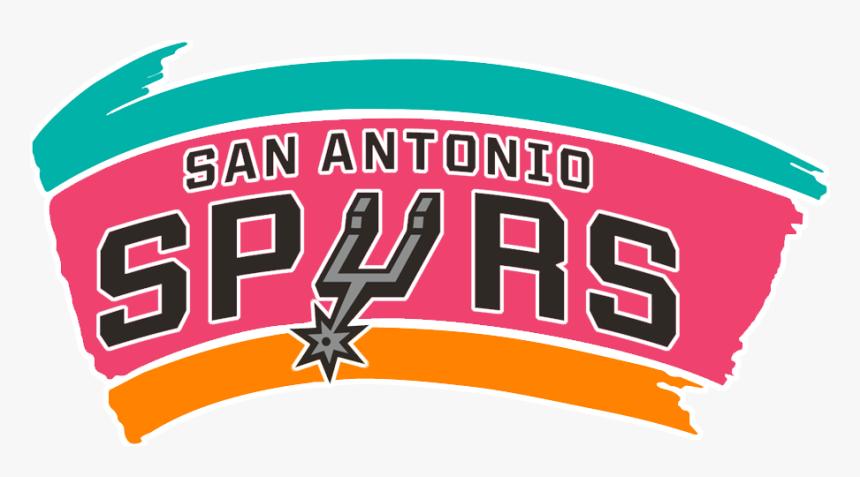 San Antonio Spurs Fiesta Logo, HD Png Download, Free Download