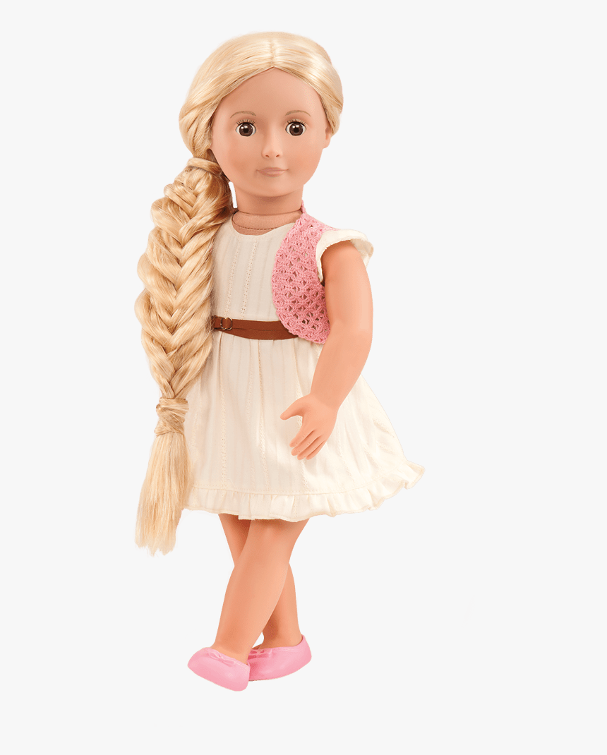 Our Generation Dolls Phoebe Blonde Hair Grow Doll ,, HD Png Download, Free Download