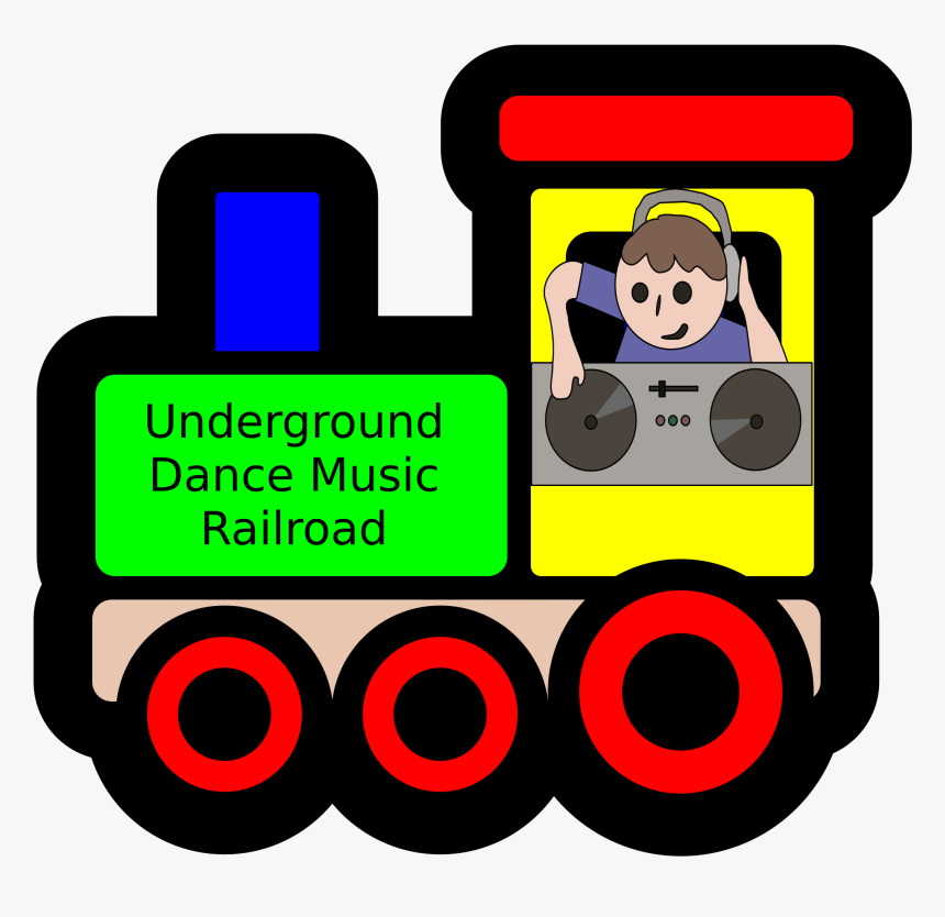 The Underground Dance Music Railroad, HD Png Download, Free Download