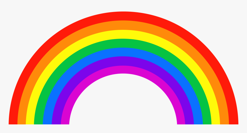 Rainbow Png Image - Transparent Background Rainbow Clipart, Png ...