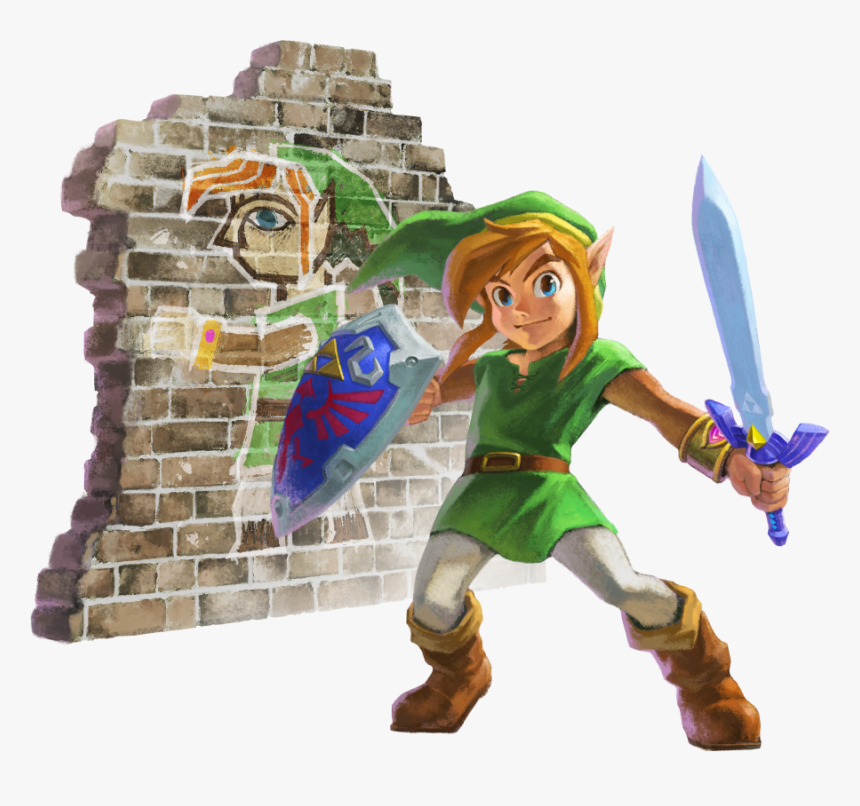 Ipb Image - Link Between Worlds Artwork, HD Png Download, Free Download