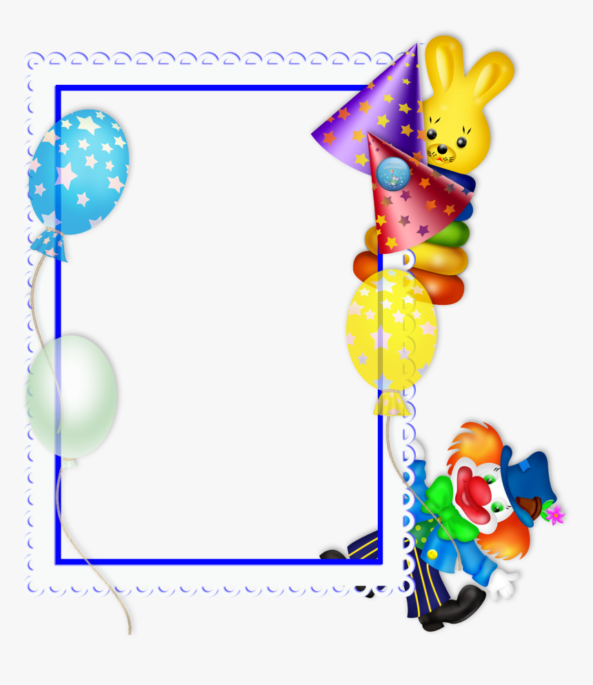 Birthday Frame Clipart Free Download Best Birthday - Happy Birthday Frame Png, Transparent Png, Free Download