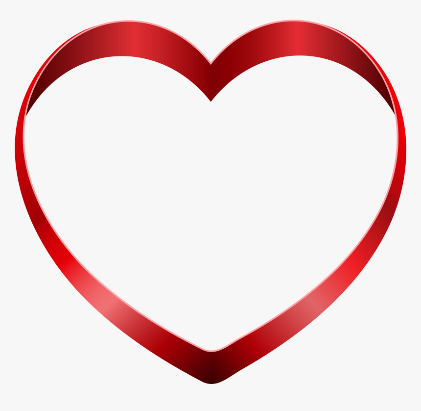 Transparent Heart Png Clipart - Love Heart Transparent, Png Download, Free Download