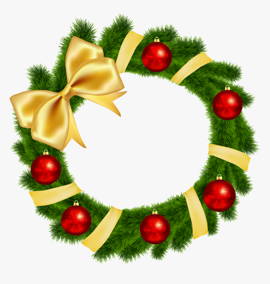 Clipart Green Christmas Decorations, HD Png Download, Free Download