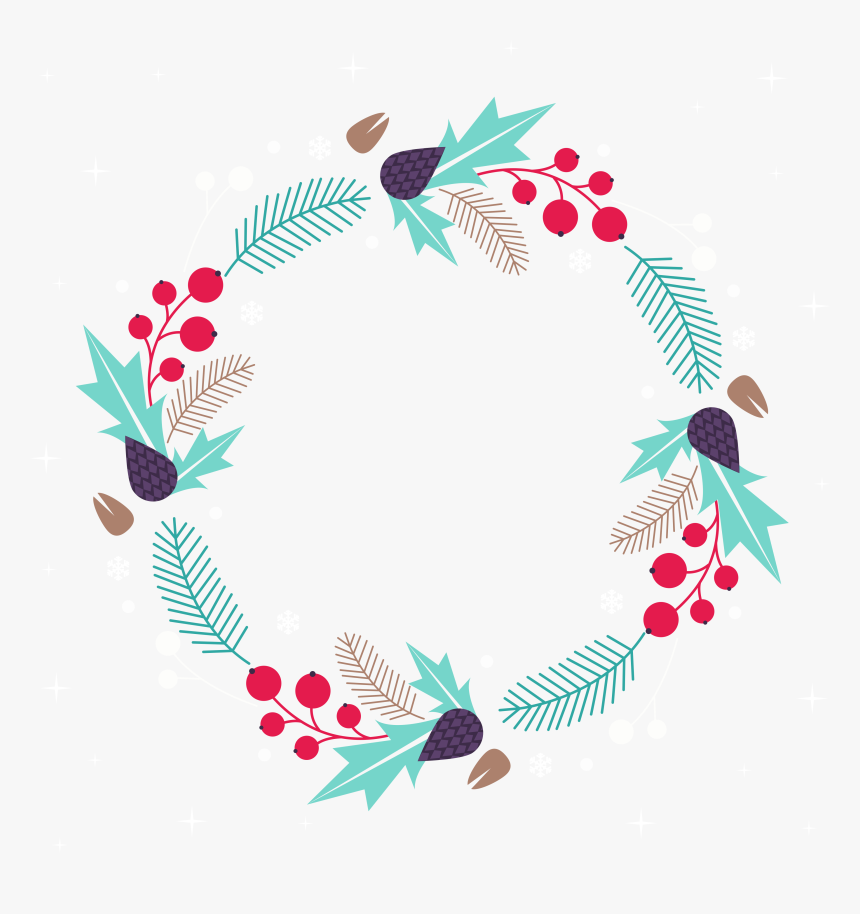 Free Christmas Wreath, HD Png Download, Free Download