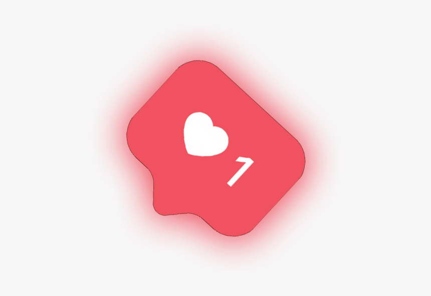 #instagram #ig #heart #like #socialmedia #red #light - Picsart Png Hd Download, Transparent Png, Free Download