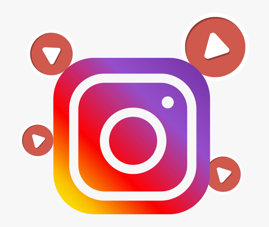 Instagram Video Png - Social Media Png For Picsart, Transparent Png, Free Download