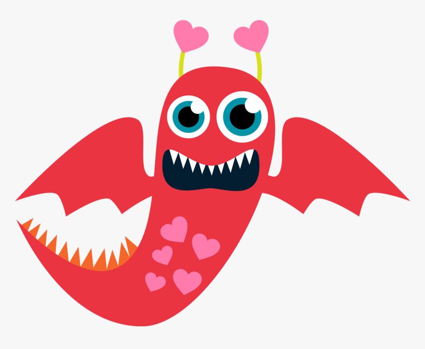 Valentine Clip Art Free Printable Free Clipart Monster Valentines Clip Art Hd Png Download Kindpng