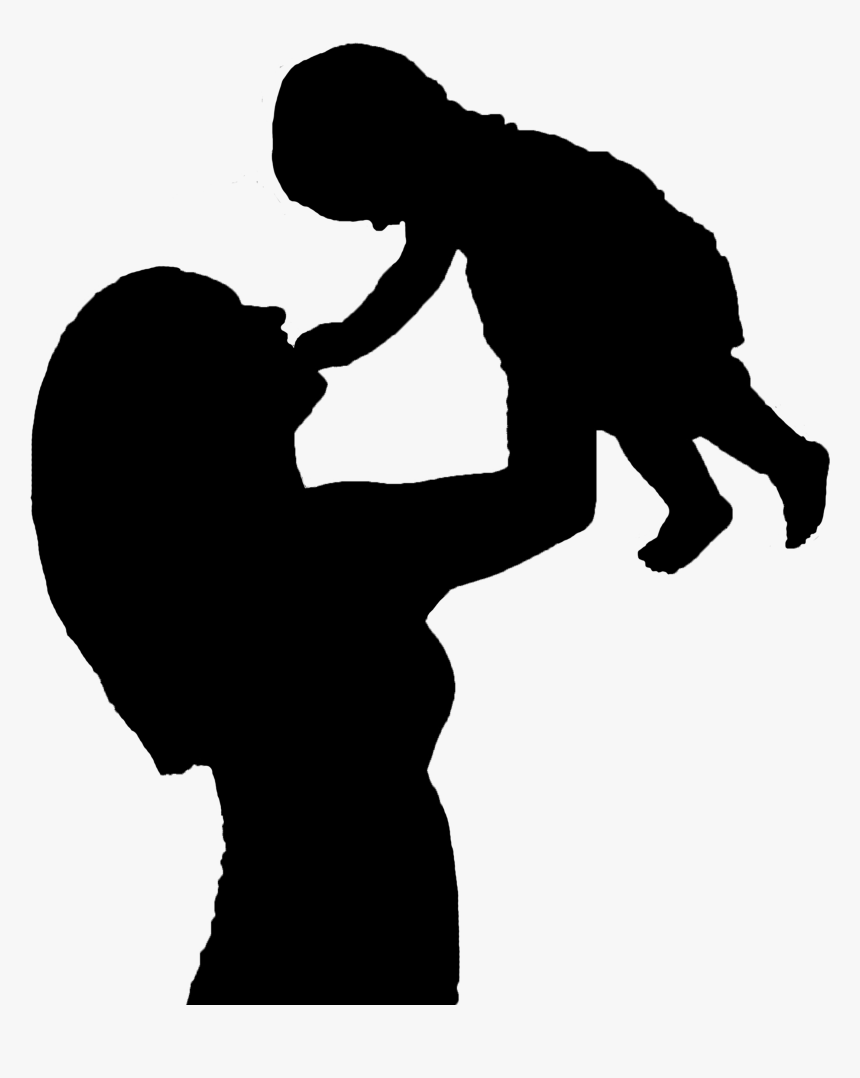 Mother Child Infant Baby Mama Clip Art Mom And Baby Png Transparent Png Kindpng