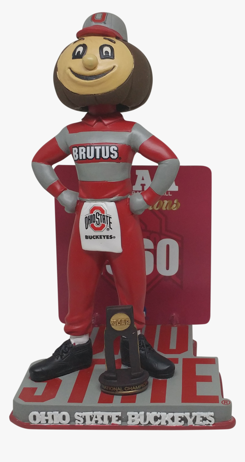 Transparent Brutus Buckeye Png - Figurine, Png Download, Free Download