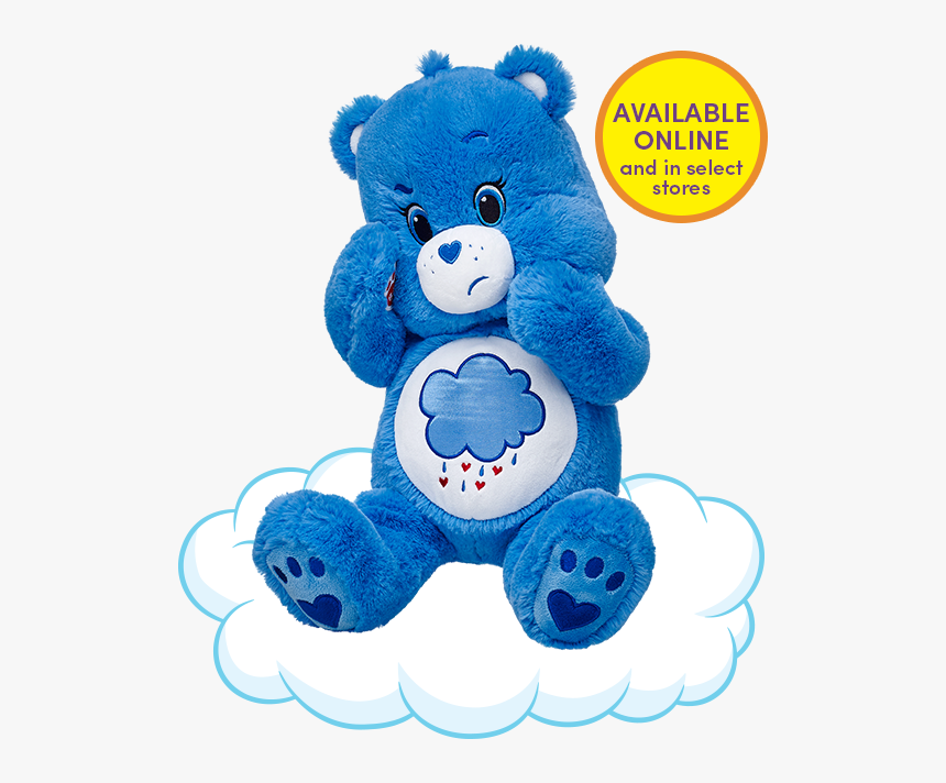 Grumpy Build A Bear Care Bears, HD Png Download, Free Download
