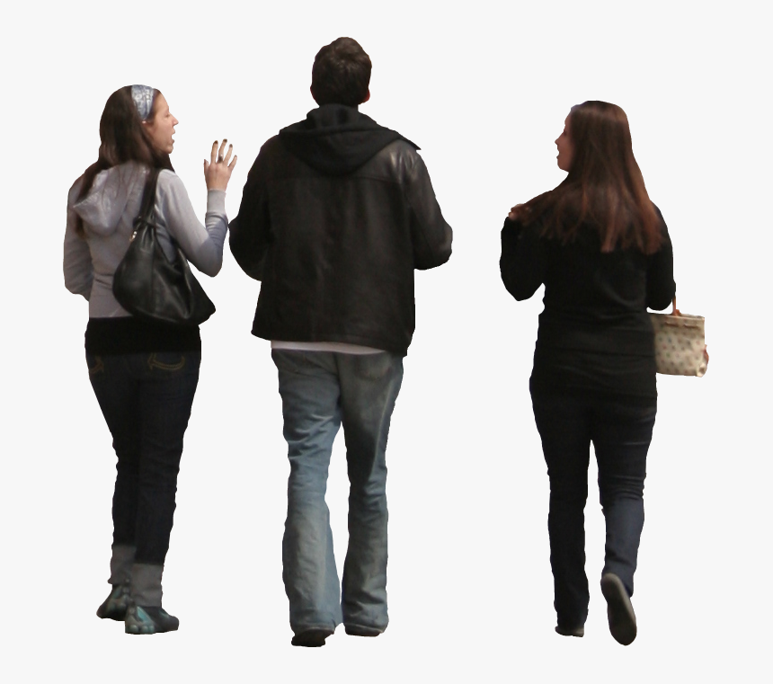 Computer Software Person - People Walking Photoshop, HD Png Download, Free Download