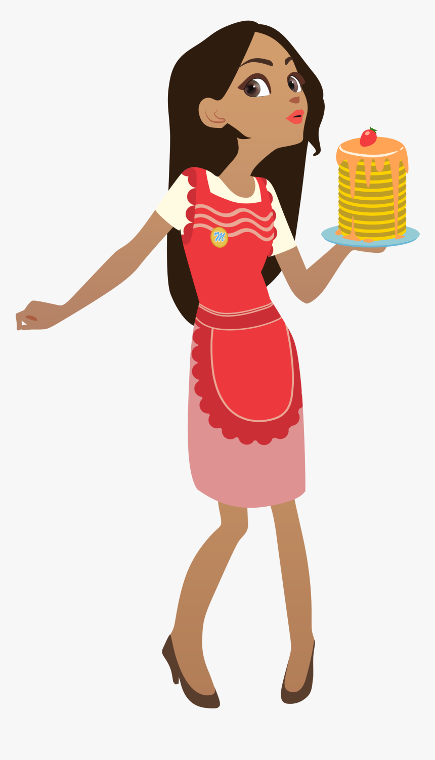 Girl Chef Transparent, HD Png Download, Free Download