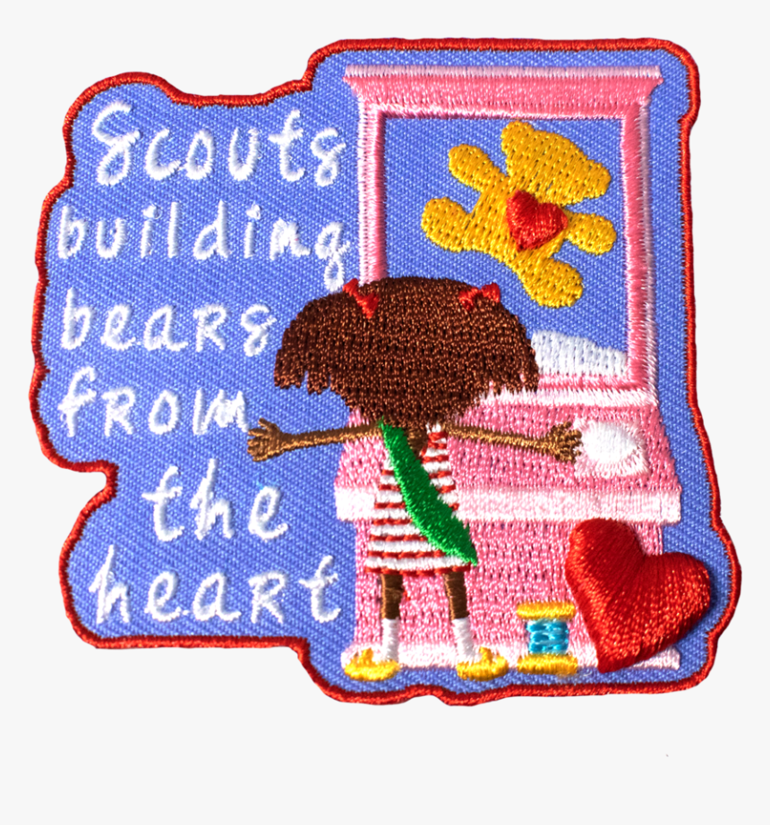 Build A Bear Girl Scout Fun Patch, HD Png Download, Free Download
