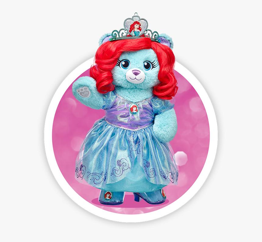 Ariel Build A Bear - Princess Build A Bears, HD Png Download, Free Download