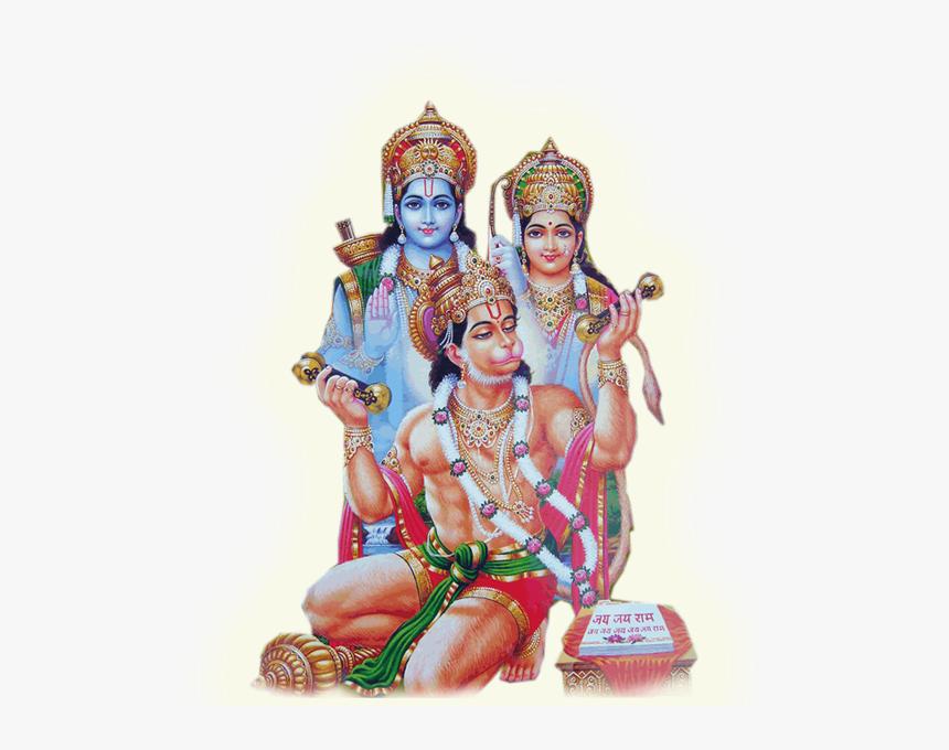 Hanuman Lakshmi And Shiva , Png Download - Lord Ram And Hanuman, Transparent Png, Free Download