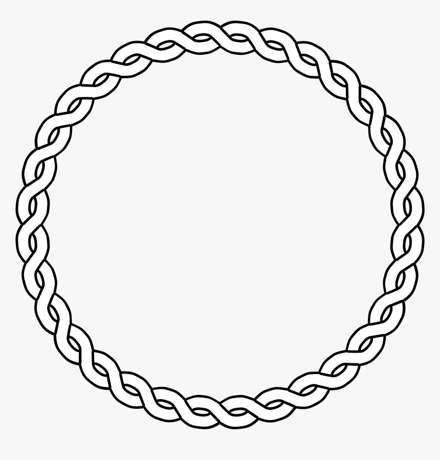 Circle Clipart Fancy - Circle Border, HD Png Download, Free Download
