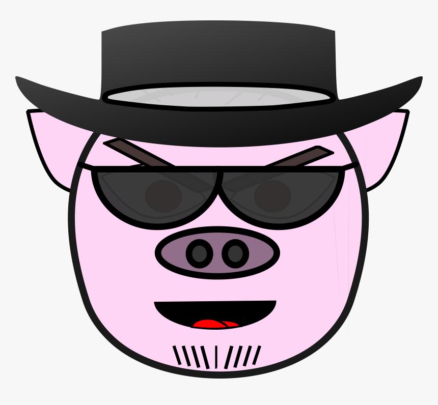 Evil Transparent Cartoon Mouth - Evil Pig Png, Png Download, Free Download