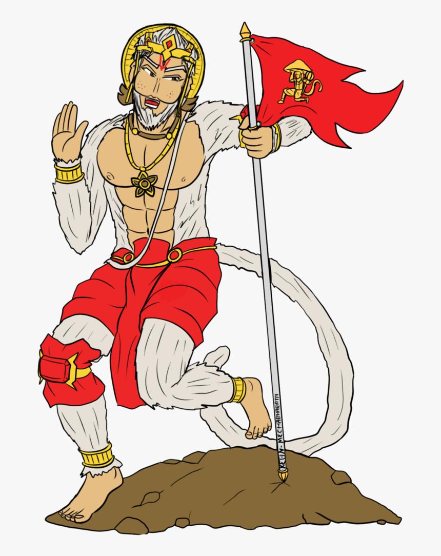 Transparent Hanuman Png Hanuman Ji Ki Drawing Easy Png Download
