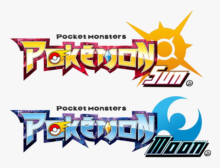 Pokemon Sun Moon Logos By Sliter-da3lajk - Pokemon Ultra Sun And Moon Logo, HD Png Download, Free Download