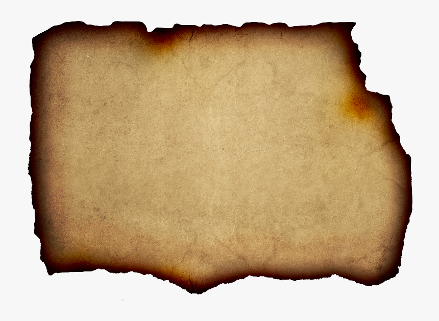 Parchment Background Free With Burnt Paper Edge - Burnt Paper Background, HD Png Download, Free Download