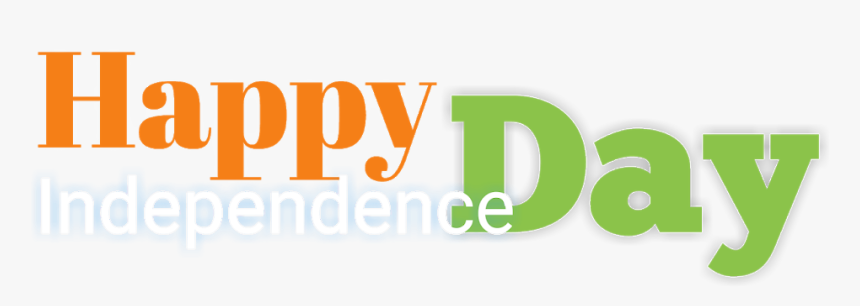 15 August Text,independence Day Font,15 August Photo,15 - Happy Independence Day Text Png, Transparent Png, Free Download
