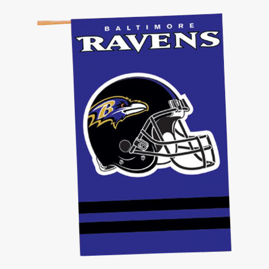 Image Of Nfl Baltimore Ravens Banner House Flag - Jacksonville Jaguars Helmet Logo, HD Png Download, Free Download