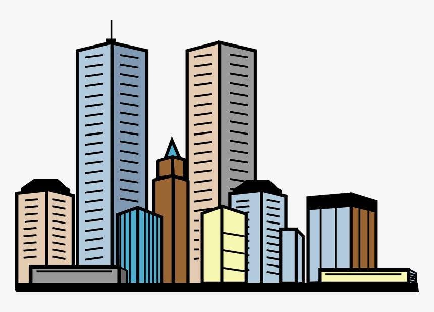 Building 20clip 20art - Building Clipart, HD Png Download, Free Download