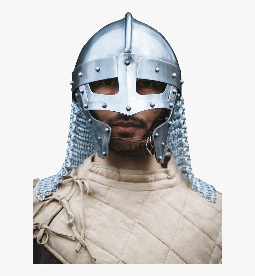 Raven Helmet - Polished Steel - Raven Helmet, HD Png Download, Free Download