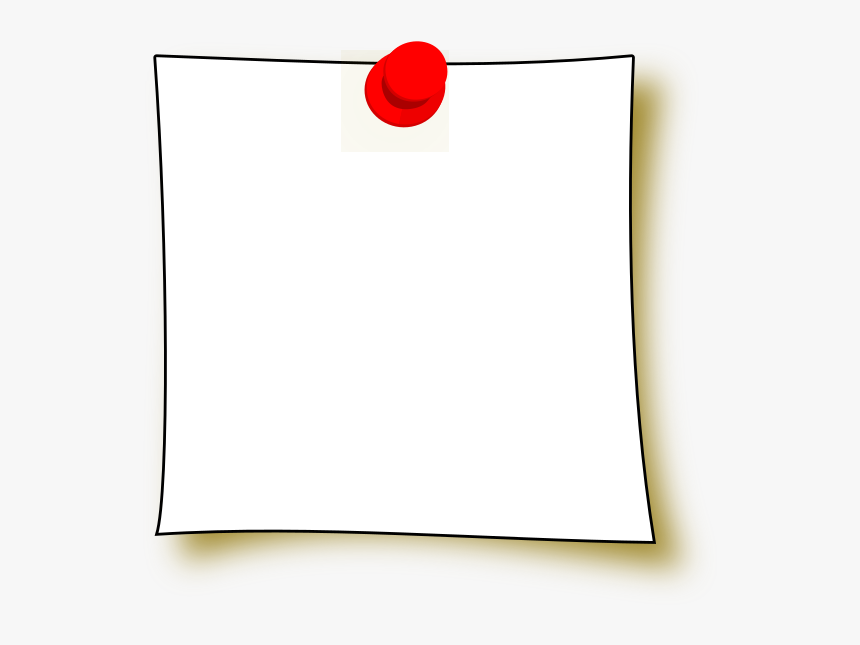 Transparent Blank Post It Note Png - Paper, Png Download, Free Download