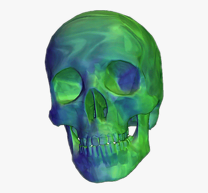 Transparent Skull Png Tumblr - Skull Gif Transparent Background, Png Download, Free Download