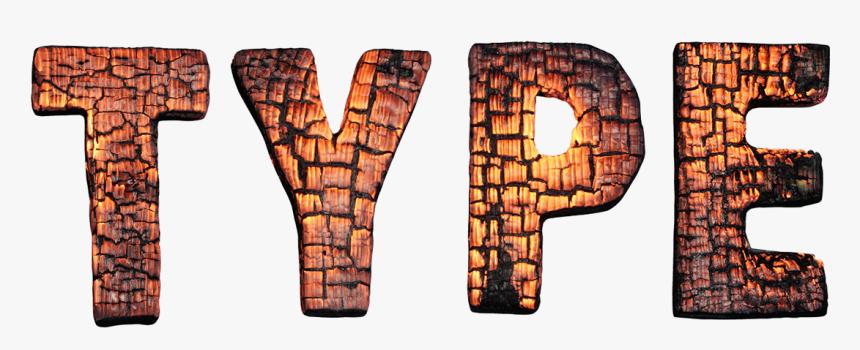 Burn Png Transparent Images - Burnt Typography, Png Download, Free Download
