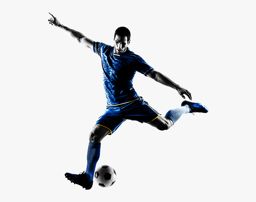 Person Kicking Football, HD Png Download, Free Download