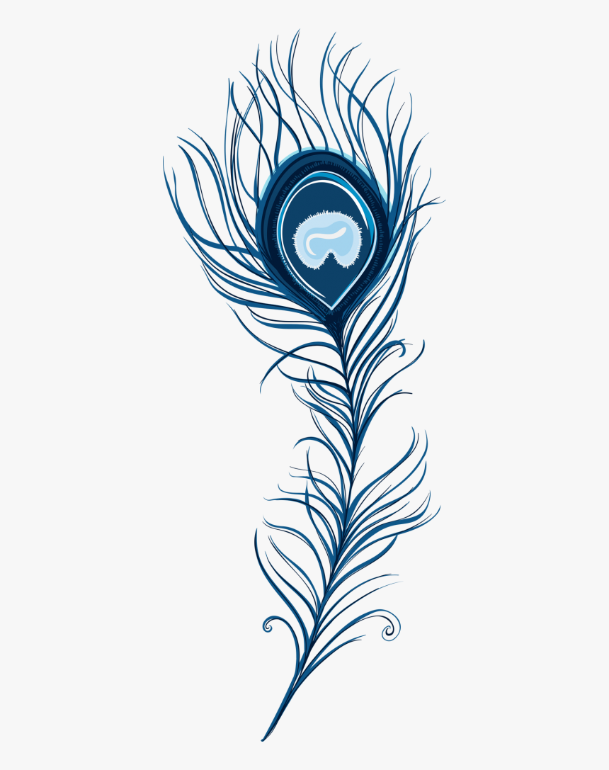 Peacock Feather Clipart Pic Png Images - Peacock Feather Clipart Png, Transparent Png, Free Download