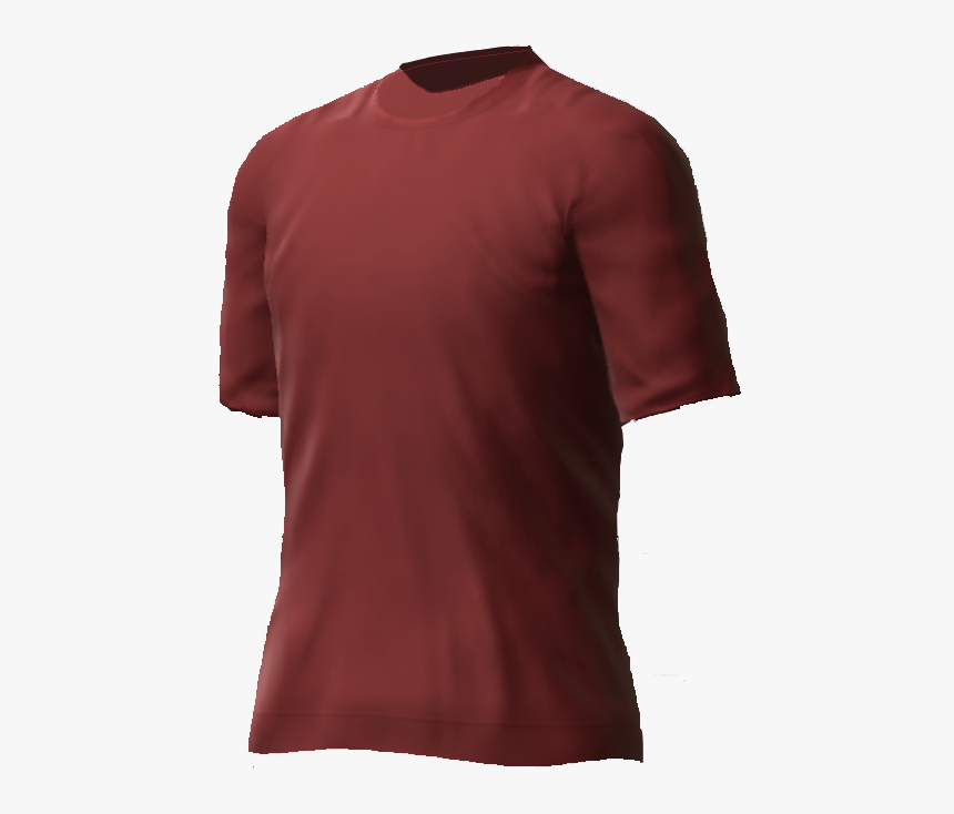 Maroon T-shirt Png - Active Shirt, Transparent Png, Free Download