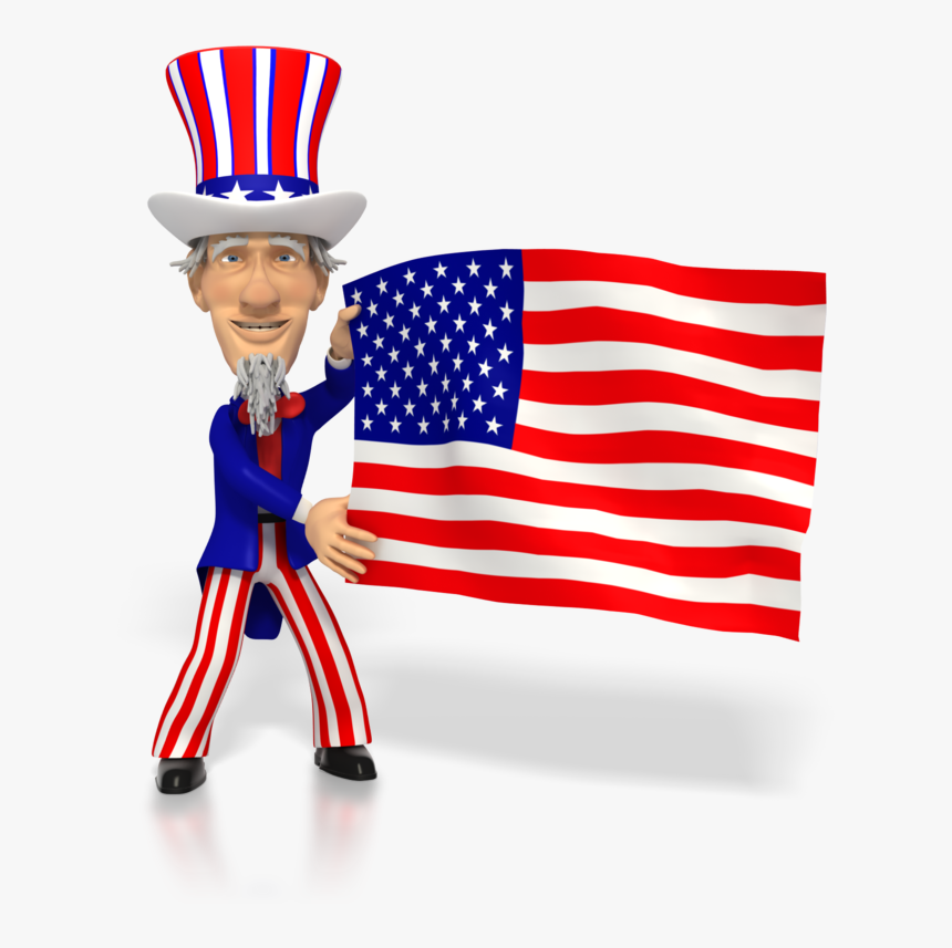 Transparent Uncle Sam Wants You Png - American Flag On Grid Paper, Png Download, Free Download