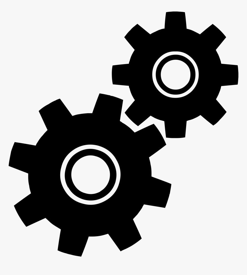 Gear Computer Icons Clip Art - Gears Clipart, HD Png Download, Free Download