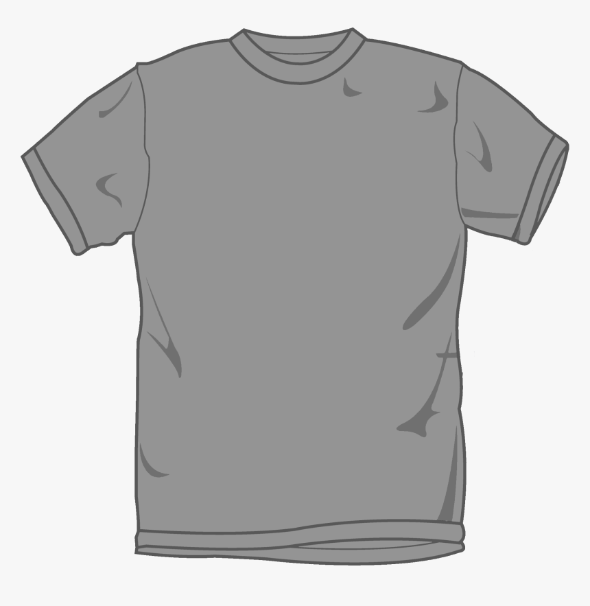 Free T Shirt Template Coreldraw - T Shirt Vector Png, Transparent Png, Free Download