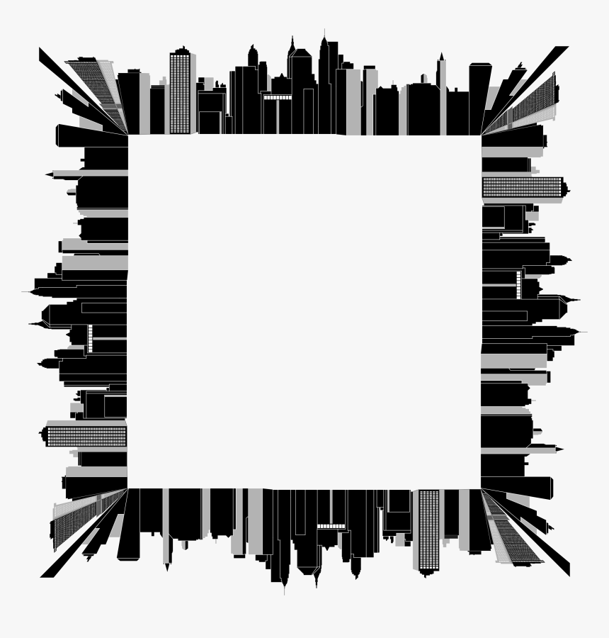 Transparent Line Clipart Png - City Border Clip Art, Png Download, Free Download
