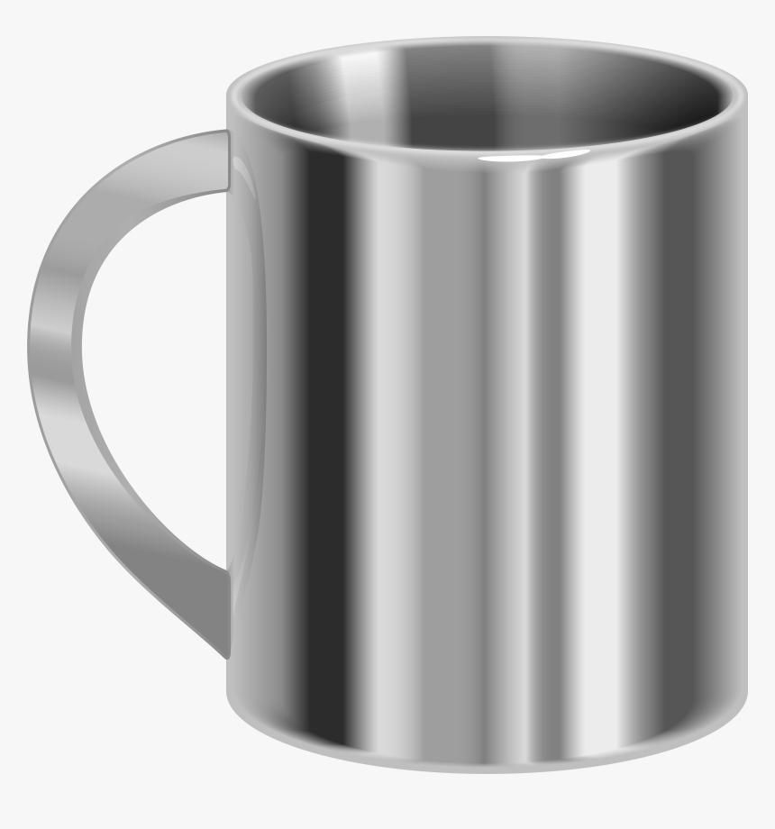 Stainless Steel Mug Png Clip Art, Transparent Png, Free Download