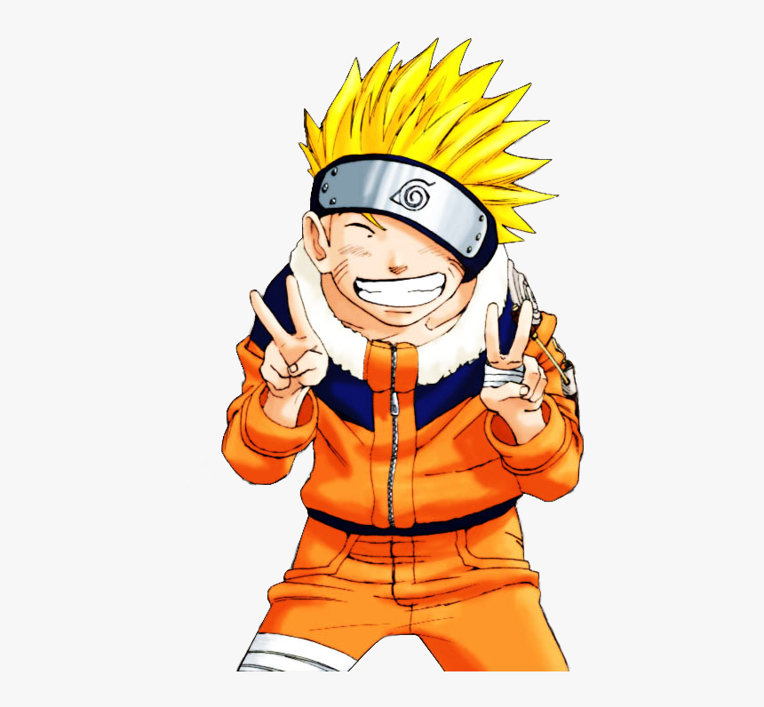 Naruto And Anime Image - Naruto Doing Peace Sign, HD Png Download, Free Download