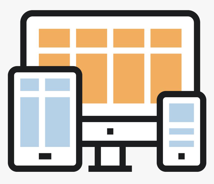 Mavidea Web Design Responsive Icon - Responsive Web Design Responsive Icon Png, Transparent Png, Free Download