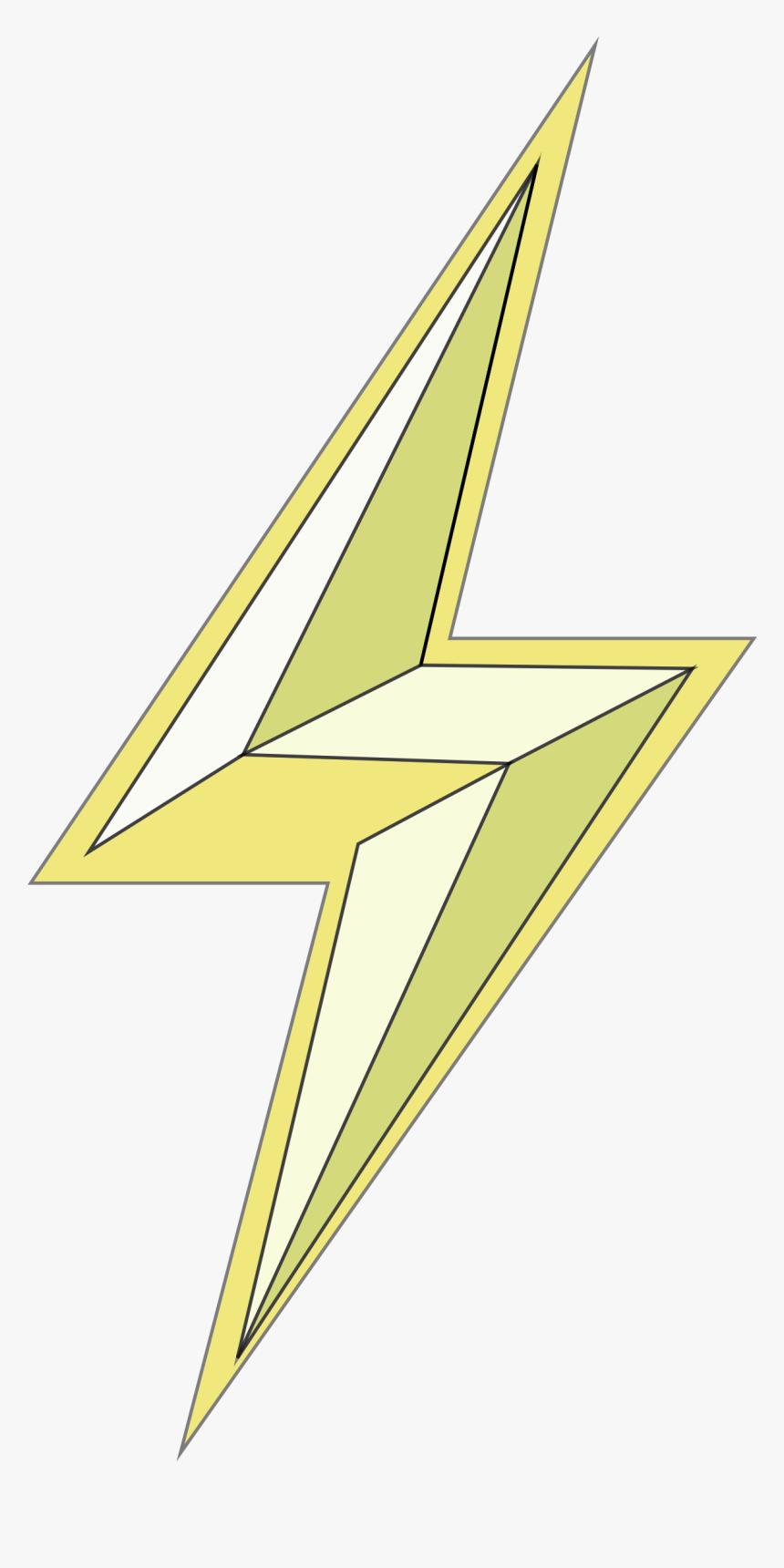 Stylized Lightning Bolt Clip Arts - Lightning Bolts Transparent Clipart, HD Png Download, Free Download