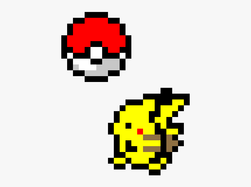 Pixel Pokeball Png - Cat Easy Pixel Art, Transparent Png, Free Download