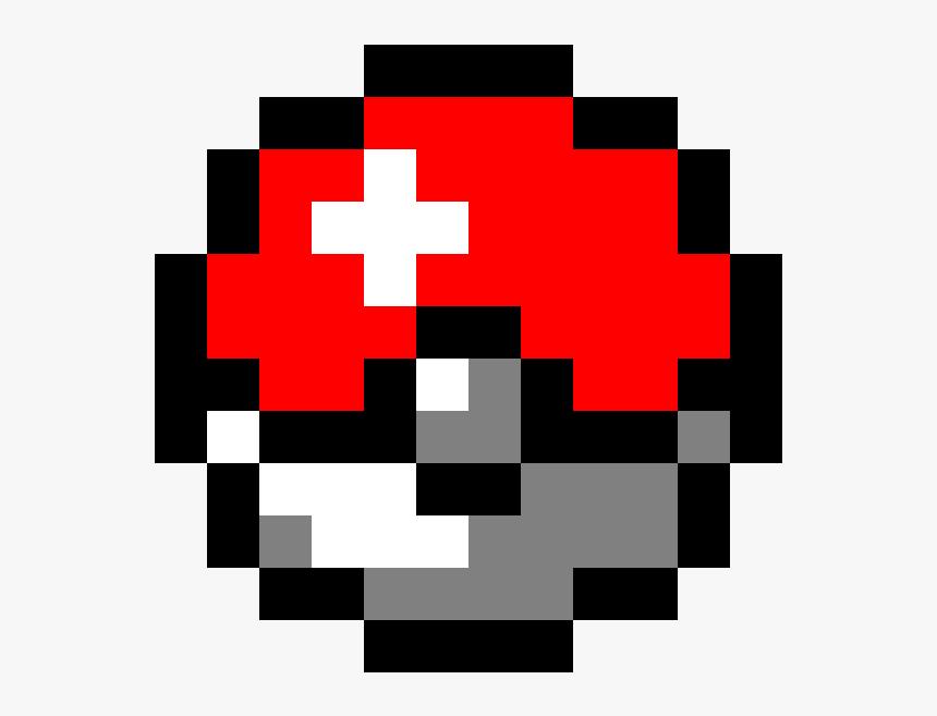 Transparent Pokeball Png - Master Ball Pixel Art, Png Download, Free Download