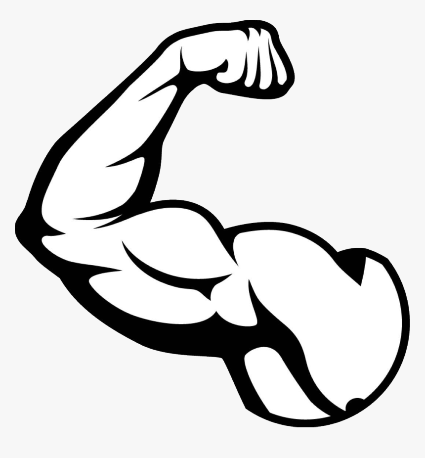 Muscle Arm Png Picture Muscles Clipart Black And- - Muscle ...