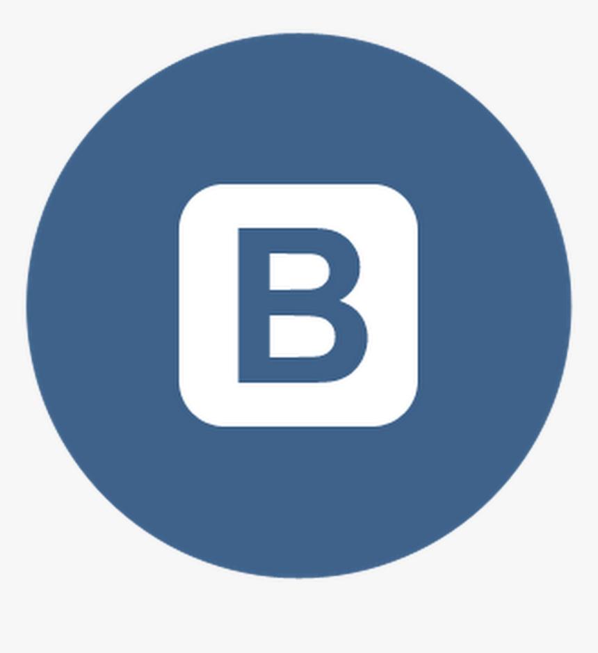 Vkontakte Logo Png Circle Transparent Linkedin Logo Png