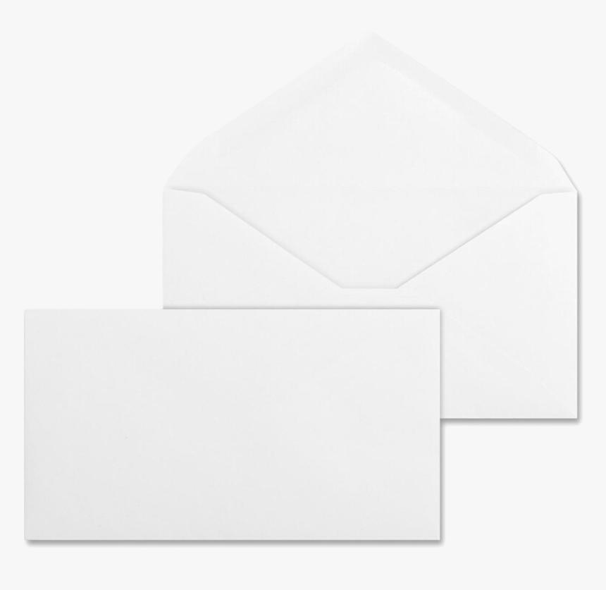 Commercial White Envelopes Open Side - Envelope, HD Png Download, Free Download
