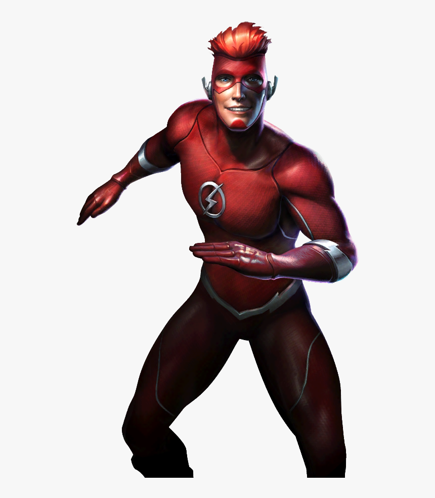 Wally West Png - Injustice Gods Among Us Wally West, Transparent Png, Free Download